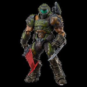 [Doom Eternal: Figma Action Figure: The Doom Slayer (Product Image)]