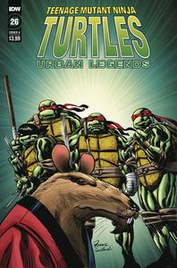[Teenage Mutant Ninja Turtles: Urban Legends #26 (Cover A Fosco) (Product Image)]