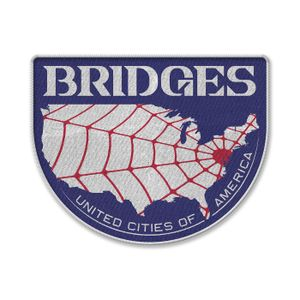[Death Stranding: Sew On Patch: Bridges (Product Image)]