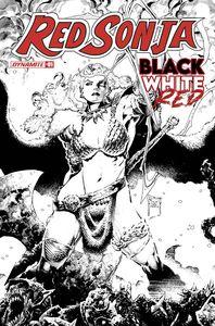 [Red Sonja: Black White Red #1 (Cover E Tan Line Art Variant) (Product Image)]