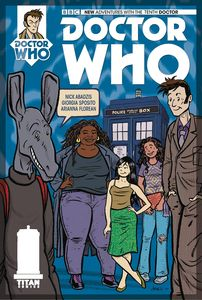 [Doctor Who: 10th Doctor: Year Three #14 (Cover C Abadzis) (Product Image)]