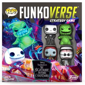 [Funkoverse: Nightmare Before Christmas: Strategy Game: Base Set (Product Image)]