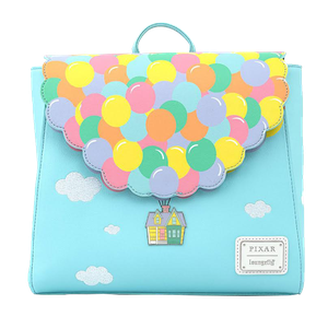 [Loungefly: Flap Mini Backpack: Disney: Up Balloon House (Product Image)]