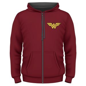 [DC: Zipped Hoodie: Wonder Woman (Product Image)]