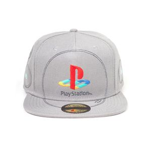 [PlayStation: Snapback Cap: Silver Logo (Product Image)]