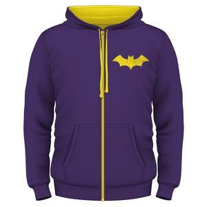 [DC: Zipped Hoodie: Batgirl (Product Image)]