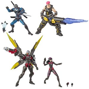 [Overwatch: Ultimates: Carbon Series Action Figure 4 Pack (Product Image)]