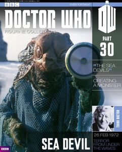 [Doctor Who: Figurine Collection Magazine #30 Sea Devil (Product Image)]