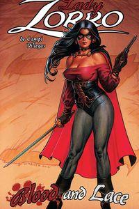 [Lady Zorro: Blood & Lace (Product Image)]