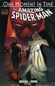 [Spider-Man: One Moment Time (Premier Edition Hardcover - Joe Quesada Cover) (Product Image)]