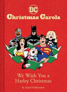 [DC Christmas Carols: We Wish You A Harley Christmas (Hardcover) (Product Image)]
