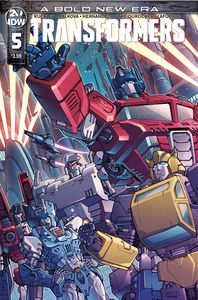 [Transformers #5 (Cover A Griffith) (Product Image)]