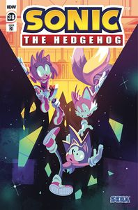 [Sonic The Hedgehog #38 (Fourdraine Variant) (Product Image)]