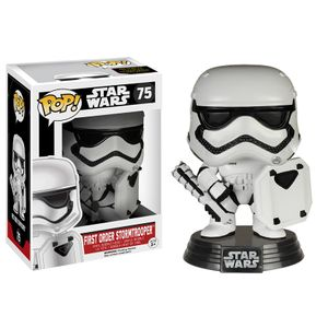[Star Wars: The Force Awakens: Pop! Vinyl Figures: First Order Stormtrooper With Riot Control Shield (Product Image)]
