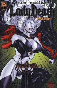 [Lady Death: Blacklands #1 (Platinum Foil Variant) (Product Image)]