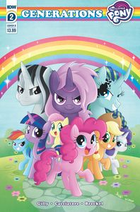 [My Little Pony: Generations  #2 (Cover B Garbowska) (Product Image)]