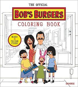 [Bob's Burgers: Adult Colouring Book (Product Image)]