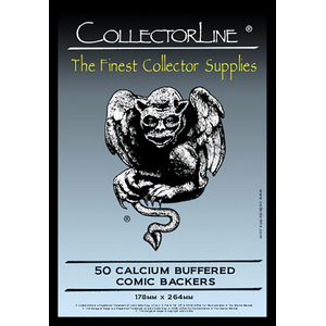 [Collectorline: Comic Backing Boards (Pack Of 50) (Product Image)]