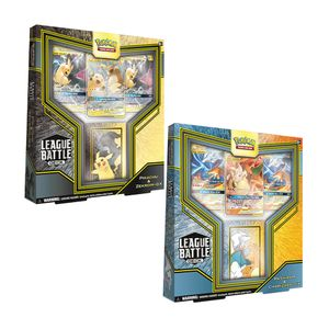 [Pokemon: Card Game: Pikachu & Zekrom / Reshiram & Charizard: GX League Battle Decks (Product Image)]