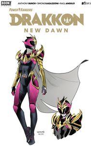 [Power Rangers: Drakkon New Dawn #1 (2nd Printing) (Product Image)]