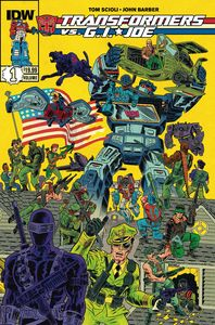 [Transformers Vs GI Joe: Volume 1 (Product Image)]