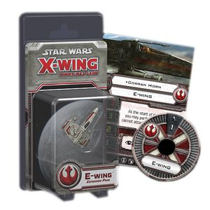 [Star Wars: X-Wing Miniatures: Expansion Pack: E-Wing (Product Image)]