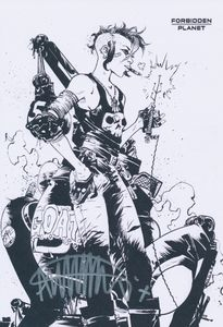 [Tank Girl: 2 Girls 1 Tank (Forbidden Planet Mini Print Edition) (Product Image)]