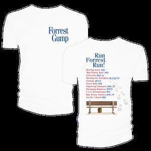 [Forrest Gump: T-Shirt: Events & Dates (Product Image)]