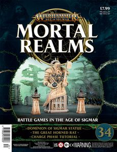 [Warhammer: Age Of Sigmar: Mortal Realms #34 (Product Image)]