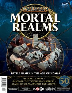 [Warhammer: Age Of Sigmar: Mortal Realms #50 (Product Image)]