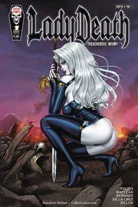 [Lady Death: Treacherous Infamy #1 (Cover A Richard Ortiz) (Product Image)]