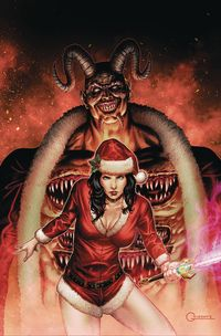 [The cover for Grimm Fairy Tales: 2019 Holiday Special (Cover A Vigonte)]