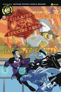 [The cover for Villains Seeking Hero #2]