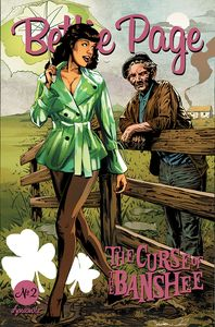 [Bettie Page: The Curse Of The Banshee #2 (Cover C Mooney) (Product Image)]