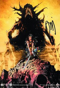 [Wonder Woman: Dead Earth (Forbidden Planet Exclusive Signed Mini Print Edition Hardcover) (Product Image)]