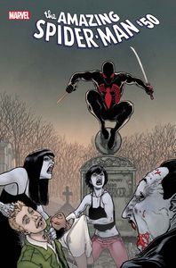 [Amazing Spider-Man #50 (Kuder Spider-Man Vampire Hunter Horro) (Product Image)]