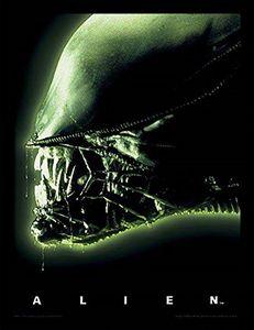[Alien: Framed Print: Alien Head (Product Image)]