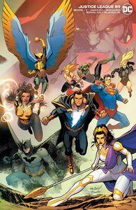 [Justice League #59 (Cover B David Marquez Wraparound Variant) (Product Image)]