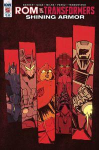 [Rom Vs Transformers: Shining Armor #5 (Cover B Roche) (Product Image)]