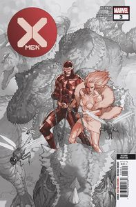[X-Men #3 (2nd Printing Yu Variant DX) (Product Image)]