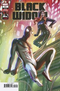 [Black Widow #11 (Edge Miles Morales 10th Anniversary Variant) (Product Image)]