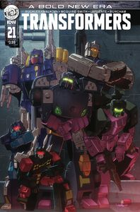 [Transformers #21 (Cover A Coller) (Product Image)]