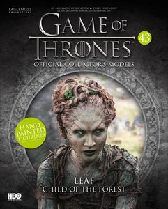 [Game Of Thrones: Model Figure Collection Magazine #43 Child Of The Forest Leaf (Product Image)]