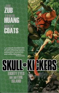 [Skullkickers: Volume 4: Eighty Eyes On An Evil Island (Product Image)]