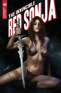 [Invincible Red Sonja #4 (Cover F Cohen Trade Dress Variant) (Product Image)]