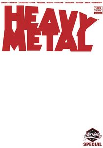 [Heavy Metal #300 (Cover D Blank Sketch) (Product Image)]