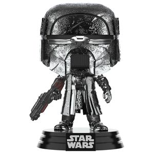 [Star Wars: The Rise Of Skywalker: Pop! Vinyl Bobblehead: Hematite Chrome Knight Of Ren With Blaster (Product Image)]