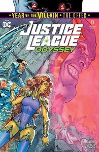 [Justice League: Odyssey #11 (YOTV The Offer) (Product Image)]