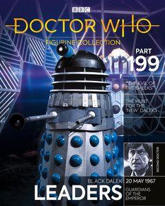 [Doctor Who Figurine Collection #199: Black Dalek Leader Evil O/T Daleks (Product Image)]