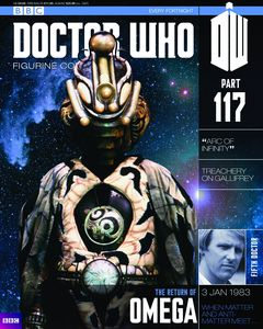 [Doctor Who: Figurine Collection Magazine #117 Omega Arc Of Infinity (Product Image)]
